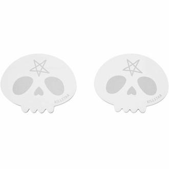 Bloc note auto adhésif KILLSTAR - Skully - Noir, KILLSTAR