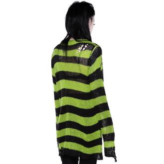 Chandail KILLSTAR pour femmes - Slimer Distress Knit Sweater, KILLSTAR