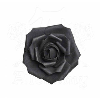 Décoration ALCHEMY GOTHIC - Small Black Rose Head, ALCHEMY GOTHIC