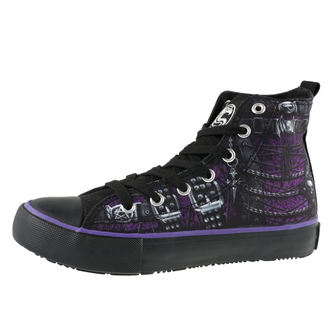 chaussures de tennis montantes pour femmes - WAISTED CORSET - SPIRAL, SPIRAL