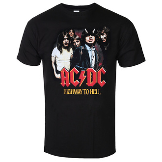 T-shirt pour hommes AC / DC - Highway To Hell - Grouper - Noir, BIL, AC-DC