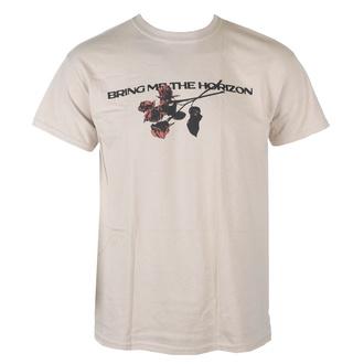 T-shirt pour hommes Bring Me The Horizon - Flowers - Beige - ROCK OFF, ROCK OFF, Bring Me The Horizon