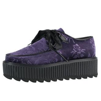 Chaussures pour femmes KILLSTAR - Vampires Kiss Creepers - PRUNE, KILLSTAR