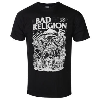T-shirt pour hommes Bad Religion - Wasteland - Noir, KINGS ROAD, Bad Religion