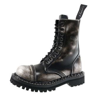 bottes en cuir unisexe - STEADY´S - STE/10_white/black