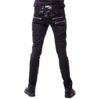 Pantalon hommes VIXXSIN - STAR CHAOS - NOIR, VIXXSIN