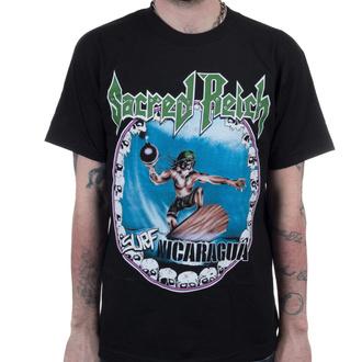 T-shirt Sacred Reich pour hommes - Surf Nicaragua - Noir - INDIEMERCH - INM008