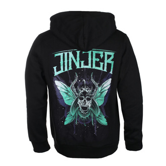 sweat-shirt avec capuche pour hommes Jinjer - Butterfly Skull - NAPALM RECORDS, NAPALM RECORDS, Jinjer