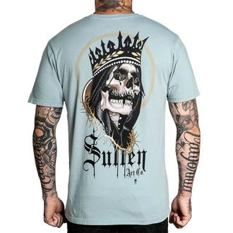 T-shirt pour hommes SULLEN - SCHULTE KING - GRIS, SULLEN