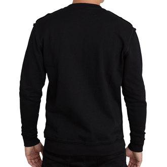 sweat-shirt sans capuche pour hommes - SWEAT HARDCORE MONKEY VERT - HYRAW, HYRAW