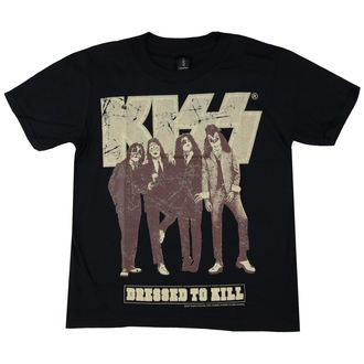 tee-shirt métal pour hommes Kiss - Dressed to Kill - LOW FREQUENCY, LOW FREQUENCY, Kiss