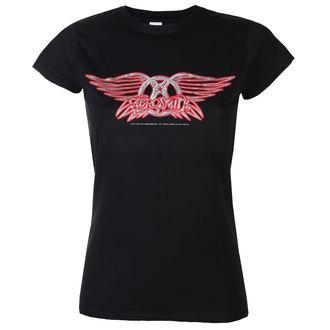tee-shirt métal pour femmes Aerosmith - Logo - LOW FREQUENCY, LOW FREQUENCY, Aerosmith