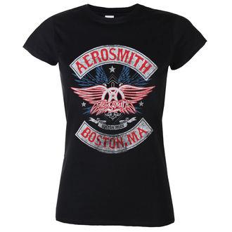 tee-shirt métal pour femmes Aerosmith - Boston Pride - LOW FREQUENCY, LOW FREQUENCY, Aerosmith