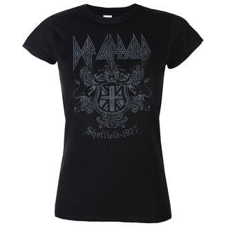 tee-shirt métal pour femmes Def Leppard - Sheffield 1977 - LOW FREQUENCY, LOW FREQUENCY, Def Leppard
