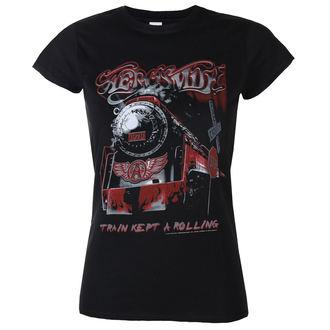 tee-shirt métal pour femmes Aerosmith - Train kept a going - LOW FREQUENCY