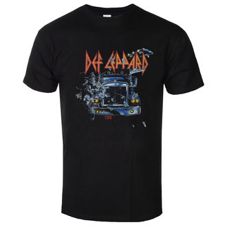 tee-shirt métal pour hommes Def Leppard - On through the night - LOW FREQUENCY, LOW FREQUENCY, Def Leppard