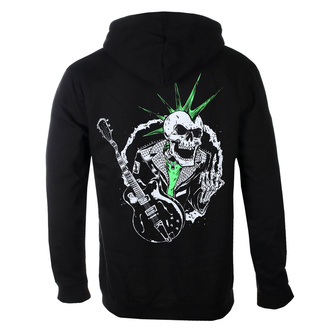 Sweat à capuche pour hommes Rancid - SkeleTim Guitar - Noir - KINGS ROAD, KINGS ROAD, Rancid