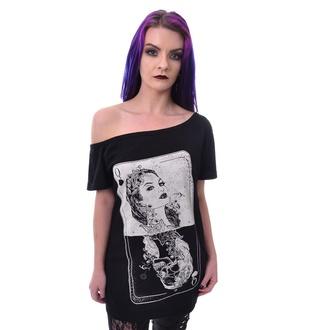 T-shirt Heartless pour femmes - TAROT - NOIR, HEARTLESS