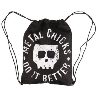 Sac à dos METAL CHICKS DO IT BETTER, METAL CHICKS DO IT BETTER