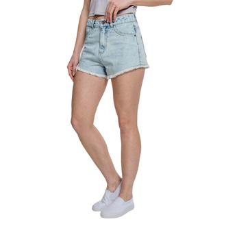 Short URBAN CLASSICS - Denim Hotpants - bleu blanchi, URBAN CLASSICS