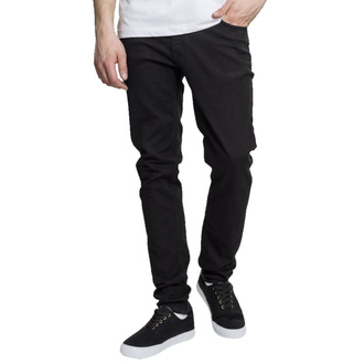 Pantalon pour hommes URBAN CLASSICS - Basic Stretch Twill 5 Pocket - noir, URBAN CLASSICS