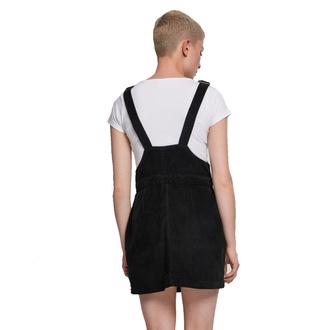 Robe pour femmes URBAN CLASSICS - Corduroy Dungaree - noir, URBAN CLASSICS