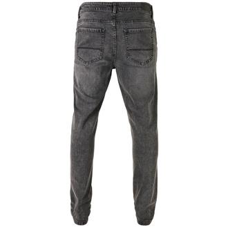 Pantalon pour hommes URBAN CLASSICS - Slim Fit Jeans - noir lavé, URBAN CLASSICS