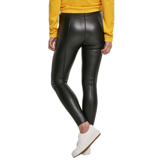 Pantalon pour femmes URBAN CLASSICS - Faux Leather Skinny - noir, URBAN CLASSICS