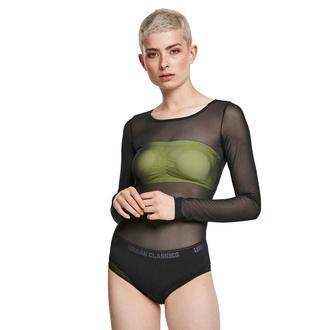 Body pour femmes URBAN CLASSICS - Tech Mesh - noir, URBAN CLASSICS