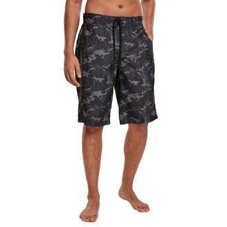 Short (maillot de bain) URBAN CLASSICS - black camo, URBAN CLASSICS