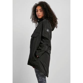 Veste pour femmes URBAN CLASSICS - Pull Over Jacket - noir, URBAN CLASSICS