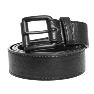 URBAN CLASSICS ceinture - Marmorized PU Leather - noir noir, URBAN CLASSICS