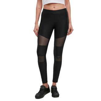 Pantalon pour femmes URBAN CLASSICS - Tech Mesh Rib - noir, URBAN CLASSICS