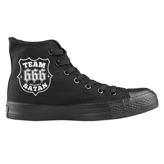 chaussures de tennis montantes unisexe - Team Satan - AMENOMEN, AMENOMEN