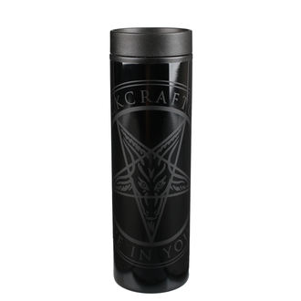 Mug thermos BLACK CRAFT - Believe In Yourself - Noir / Noir, BLACK CRAFT