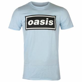 t-shirt pour homme Oasis - Decca Logo Sky Blue - RTOASTSSBDEC