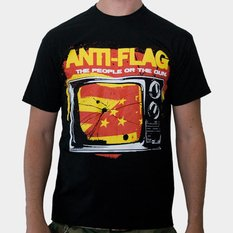 tee-shirt métal pour hommes Anti-Flag - Black - KINGS ROAD, KINGS ROAD, Anti-Flag