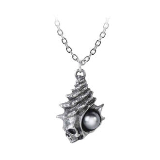 Collier pendentif ALCHEMY GOTHIC - The Black Pearl Of Plage Noire, ALCHEMY GOTHIC