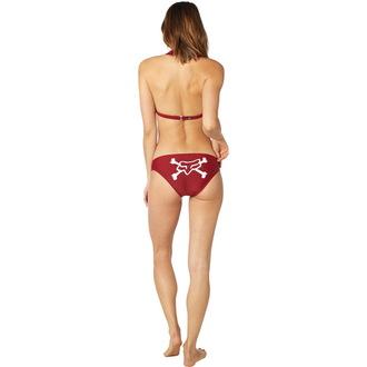 Bikini pour femmes FOX - Throttle Maniac - Licou - Foncé rouge, FOX