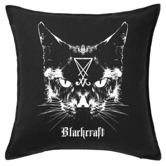 oreiller  BLACK CRAFT - Lucifer The Cat Throw, BLACK CRAFT
