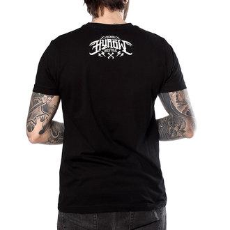 t-shirt hardcore pour hommes - SUICIDAL NOIR - HYRAW, HYRAW