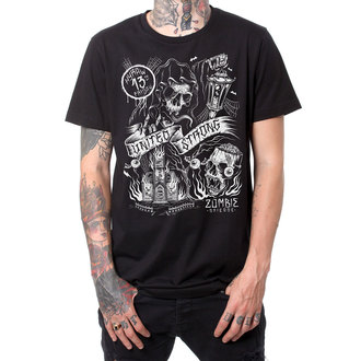 t-shirt hardcore pour hommes - ZOMBIES - HYRAW - HY286