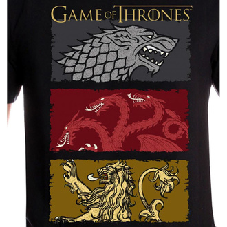 t-shirt de film pour hommes Game of thrones - THE HOUSES OF THE KING - LEGEND, LEGEND, Game of Thrones