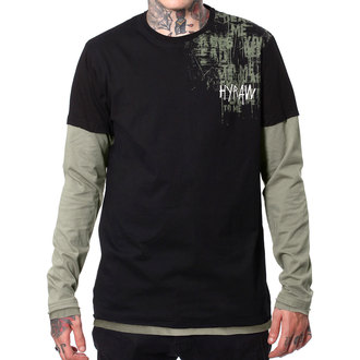 t-shirt hardcore pour hommes - LAND - HYRAW