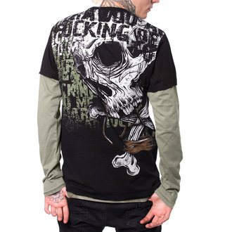 t-shirt hardcore pour hommes - LAND - HYRAW, HYRAW