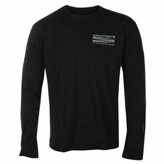 T-shirt pour hommes à manches longues Architects - FTTWTE Grid - Noir - KINGS ROAD, KINGS ROAD, Architects