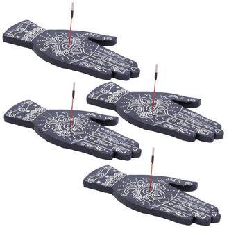 Porte-bâtonnets d'encens (ensemble 4 pièces) Main Hamsa - U4784P9