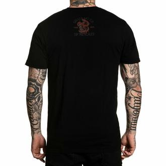 T-shirt pour hommes SULLEN - CORAL SCALES - NOIR, SULLEN