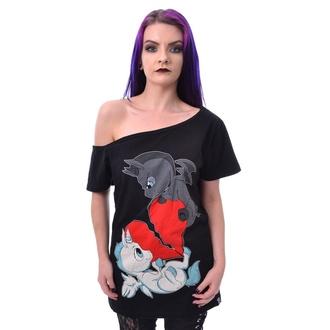 T-Shirt pour femmes - UNICORN HEART FIGHT - CUPCAKE CULT - POI911