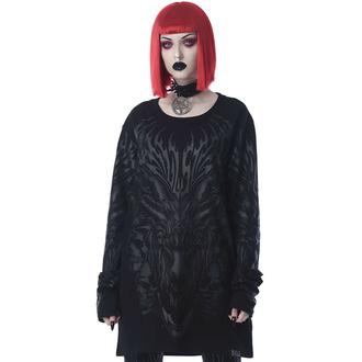 T-shirt unisexe manche longue KILLSTAR - Sauvage - Noir, KILLSTAR